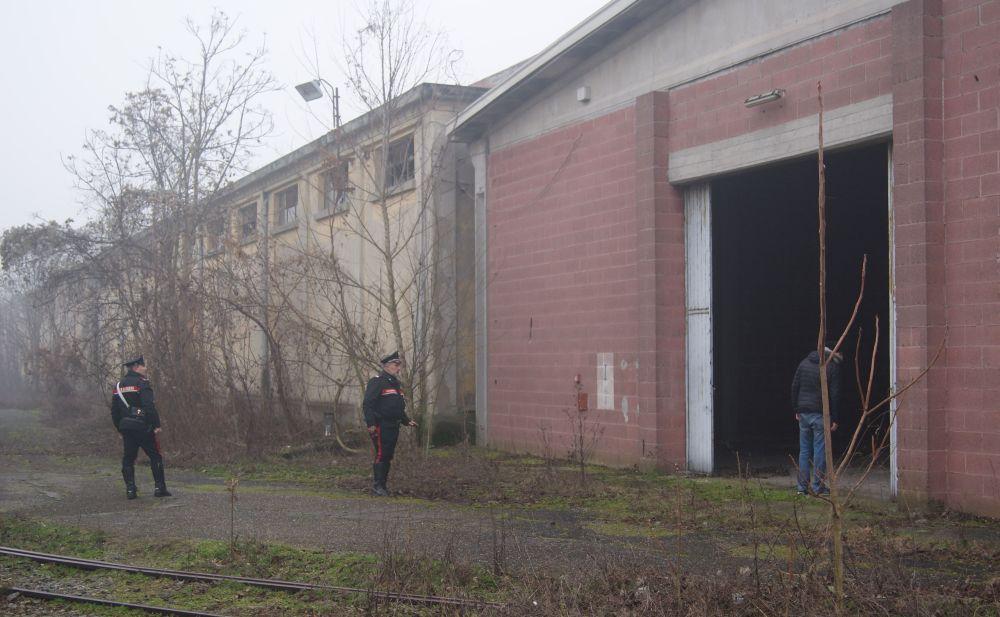 In questo capannone volevano stuprare una giovane tortonese di 25 anni. Il racconto e i particolari