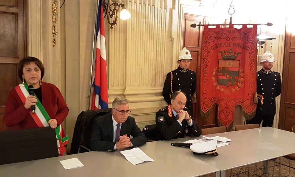 Casale Monferrato ha festeggiati i Vigili Urbani. La relazione sull'attività svolta