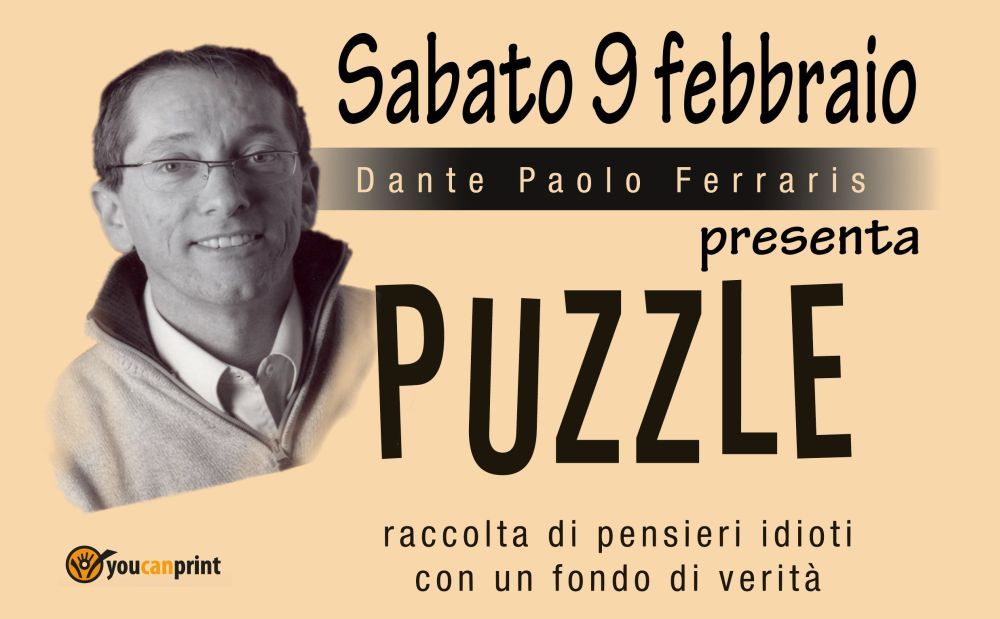 """Sabato al museo della Gambarina di Alessandria si presenta il libro """"Puzzle"""""""
