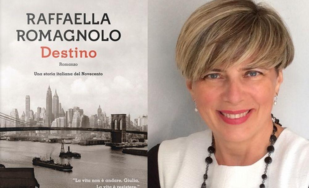 Venerdì a Pozzolo si presenta il nuovo romanzo di Raffaella Romagnolo