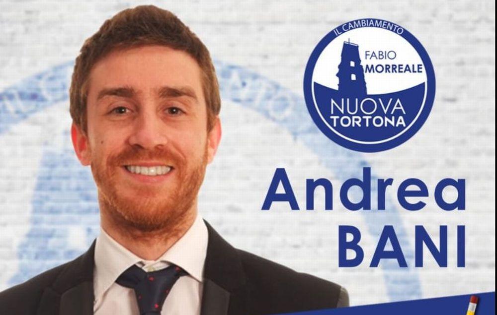 """Andrea Bani si candida con """"Nuova Tortona"""" con Federico Chiodi Sindaco"""
