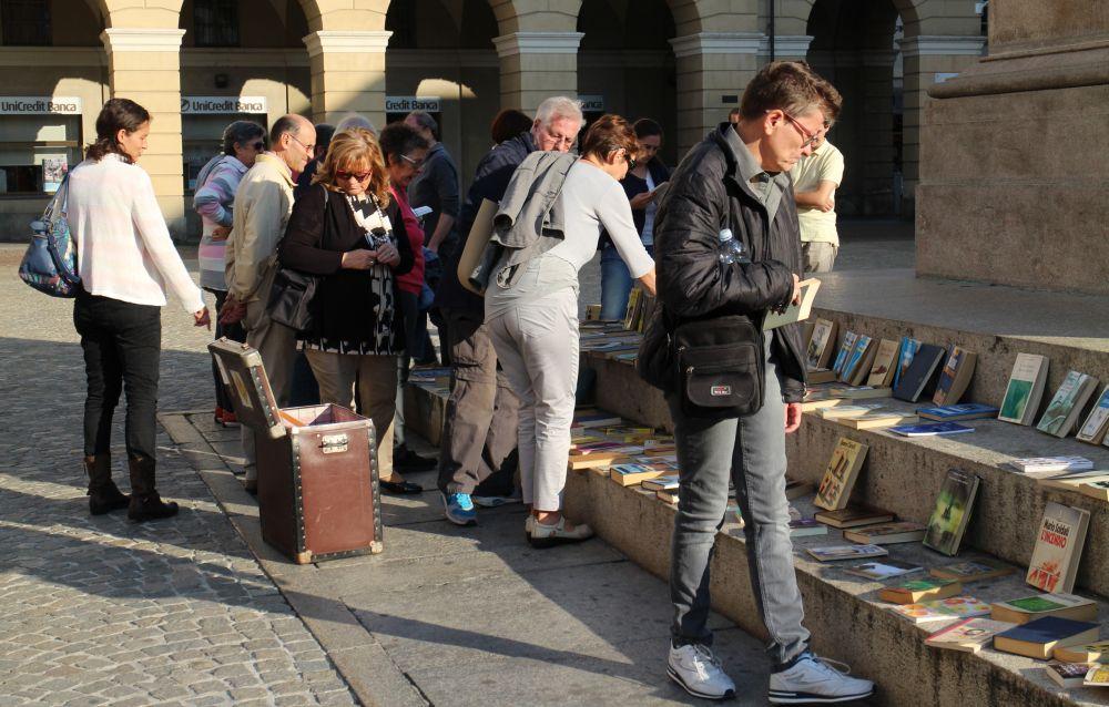Sabato 5 ottobre il Bookasalecrossing al Castello di Casale Monferrato
