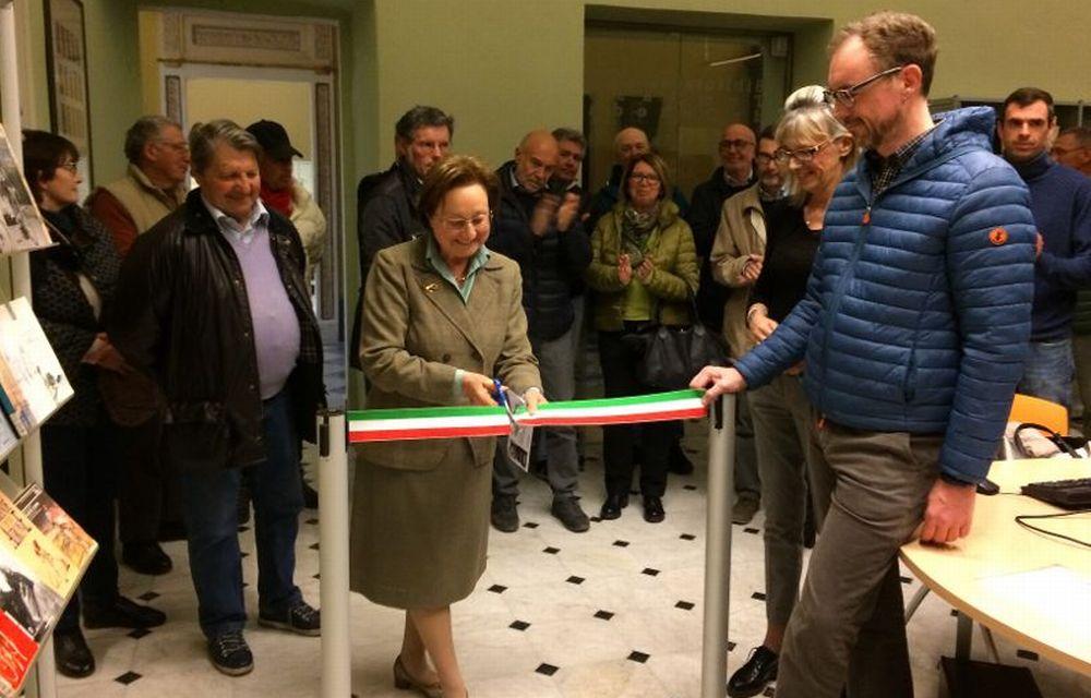 Inaugurata a Tortona la sezione della Biblioteca dedicata a Fausto Coppi