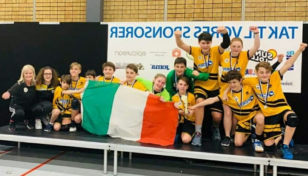 L'Under 13 di Leoni Pallamano Tortona campione a Copenaghen!