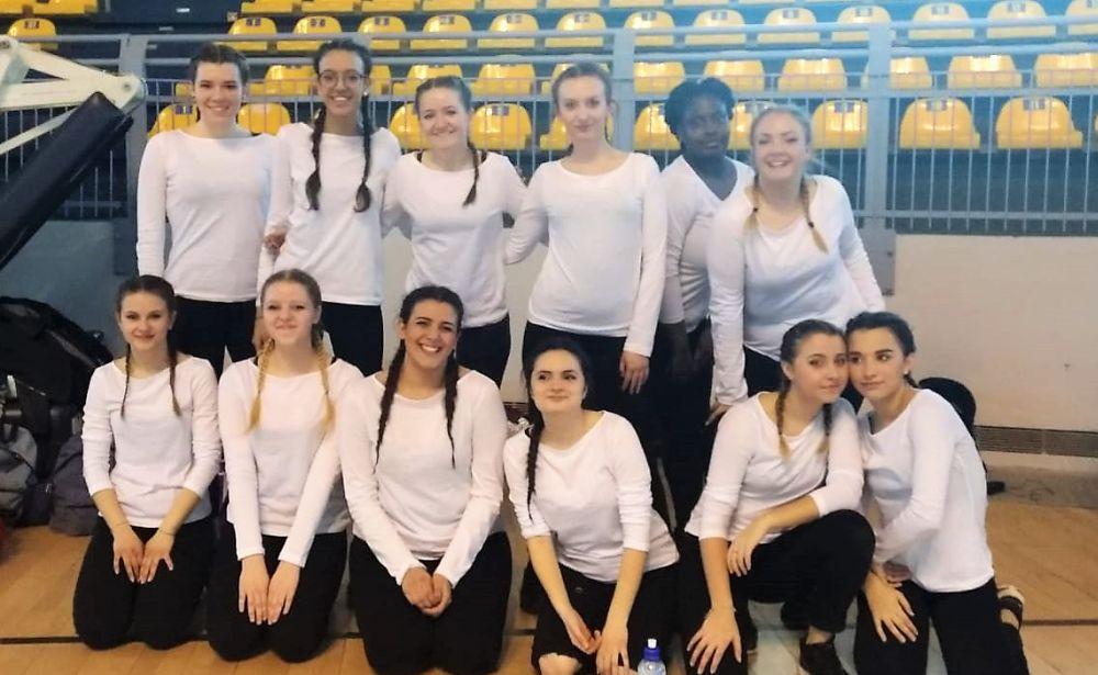 Le ragazze del Marconi di Tortona ben figurano alle Olimpiadi di danza