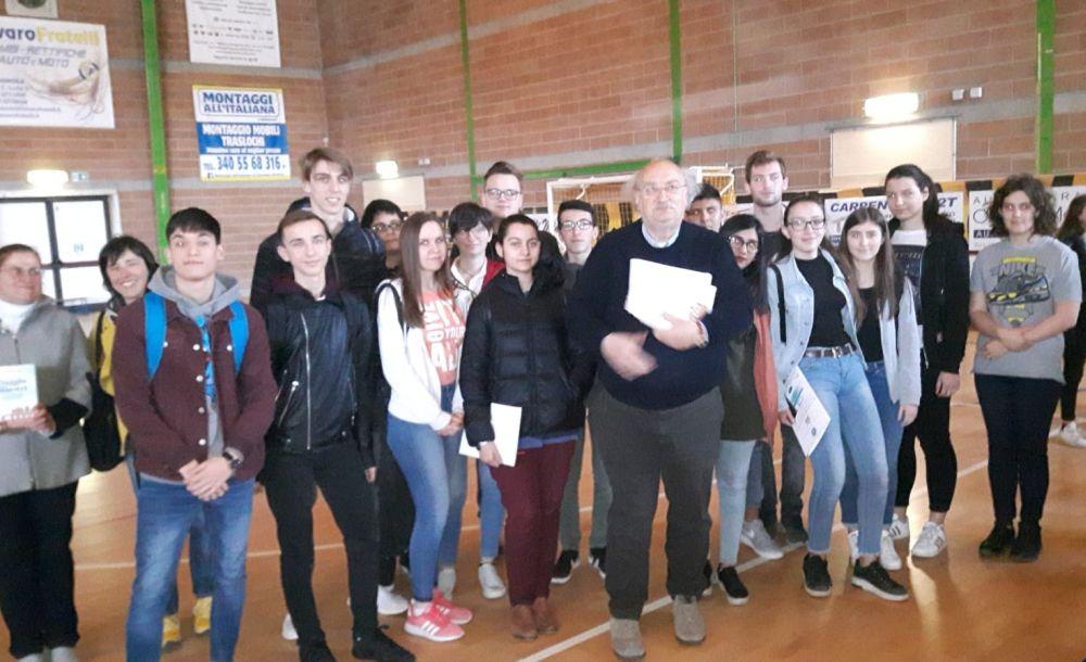 Gli studenti del Marconi di Tortona al  26° convegno interregionale della Stampa studentesca