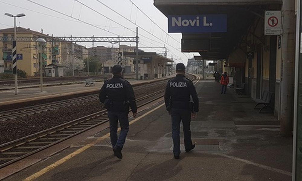 Straniero ubriaco tira il freno a mano di un treno a Novi Ligure, denunciato