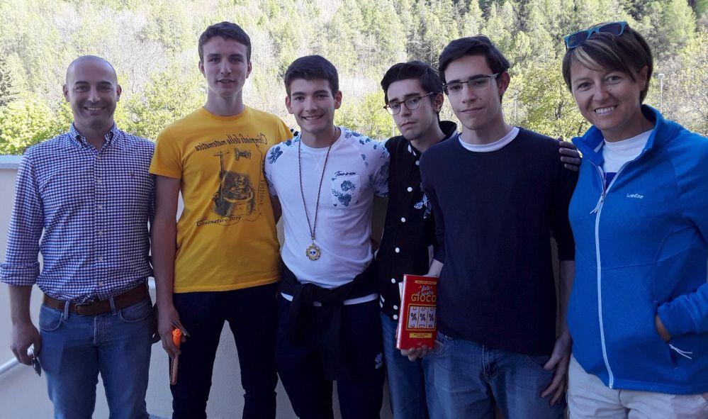 Alberto e Leo Coscia del  liceo Amaldi di Novi Ligure vincono la gara regionale math 2019 a Bardonecchia