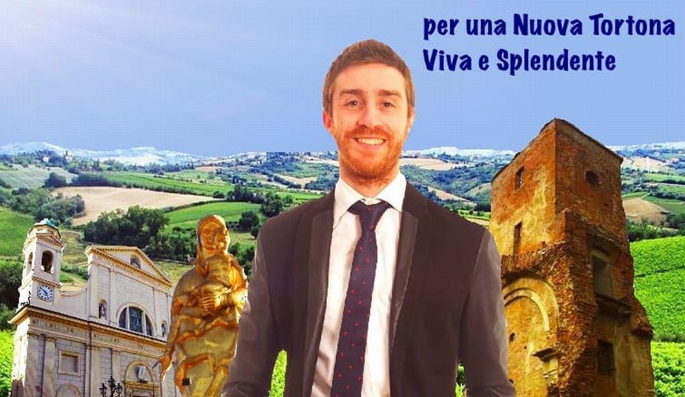 """Andrea Bani candidato con """"Nuova Tortona"""" parla dei progetti per rilanciare la città che ama. L'intervista"""