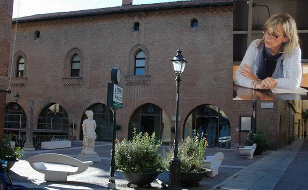 Domenica a Tortona un'anteprima di quello che sarà il nuovo museo con  Manuela Marini che ne illustra un aspetto