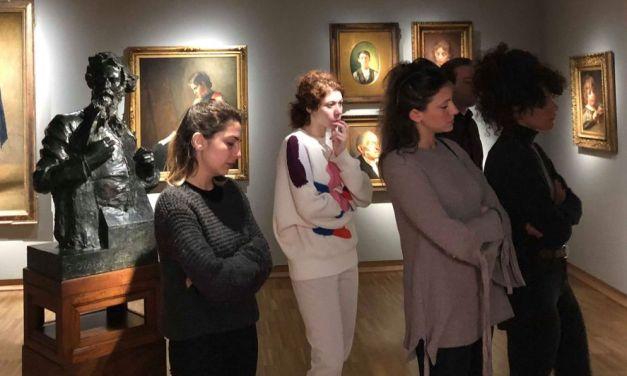 Gli studenti di Brera hanno visitato il Museo del Divisionismo. Le immagini