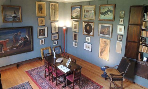 Ogni prima Domenica del mese a Tortona si può visitare gratis casa e studio del pittore Angelo Barabino grazie alla Fondazione
