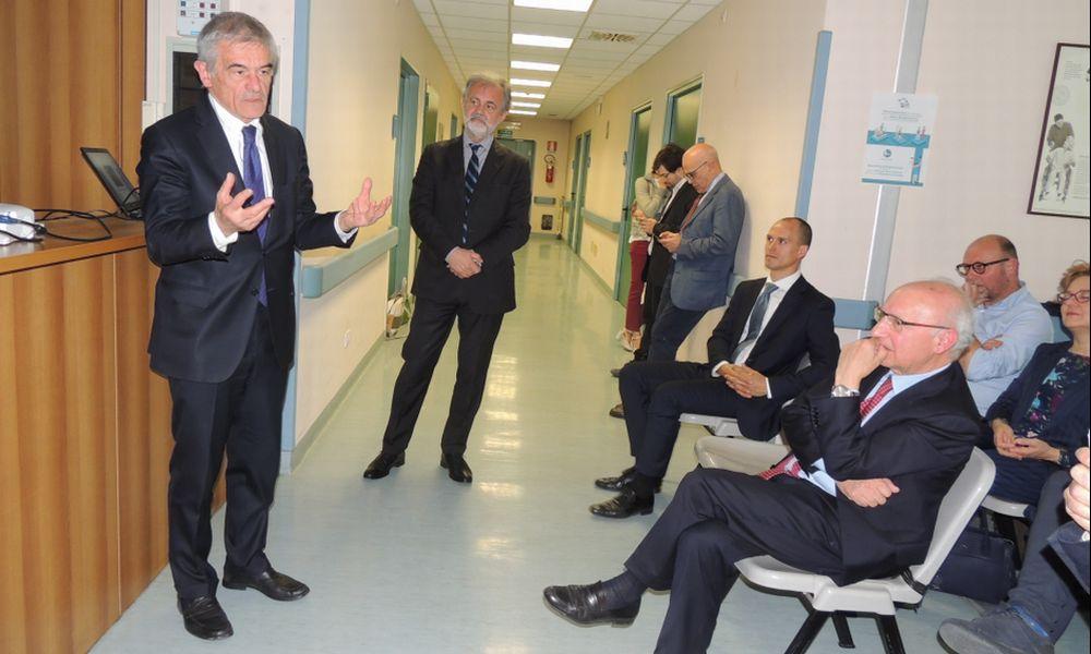 Fisiatria a Tortona pronta (forse) fra due anni. Ecco come sarà il nuovo reparto dell'ospedale illustrato in campagna elettorale