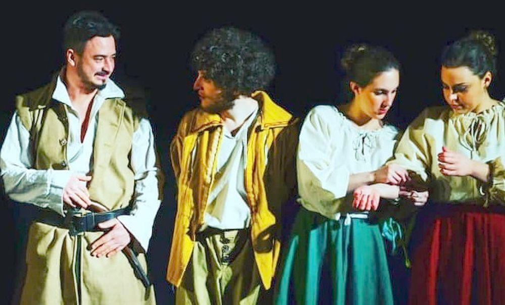 """Giovedì 9 maggio al Teatro Sociale di Valenza """"La bisbetica domata"""" di Shakespeare"""