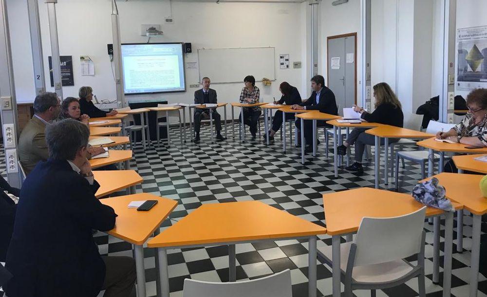 Prima riunione del comitato tecnico scientifico dell'istituto Marconi di Tortona