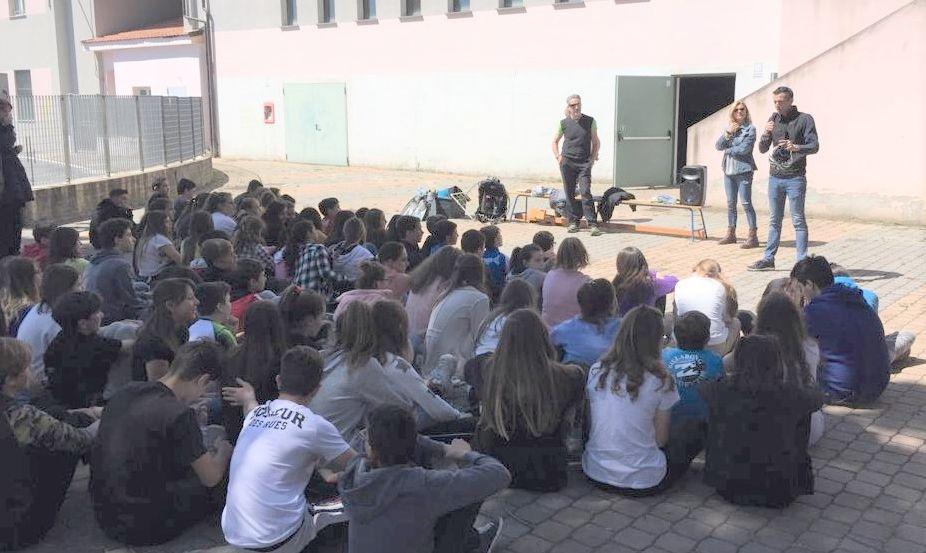 Outdoor nel Golfo dianese, due ore informative nelle scuole