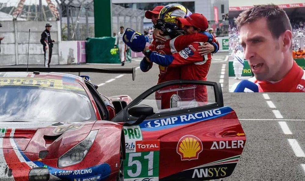 Un tortonese vince la 24 ore di Le Mans, è Alessandro Pier Guidi di Sarezzano!
