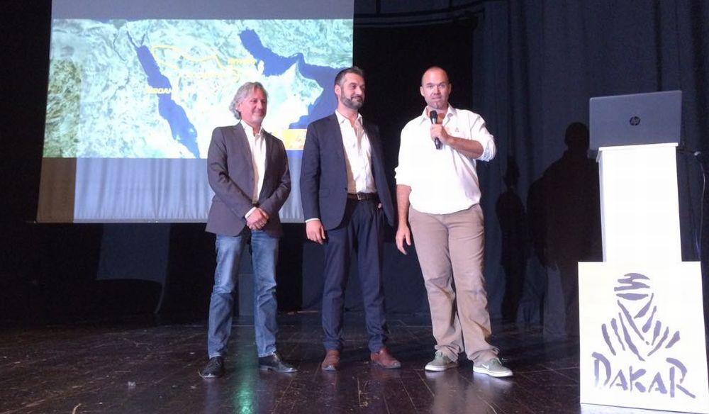 A Tortona Edo Mossi ha presentato la Dakar a tutti i partecipanti italiani. Le immagini