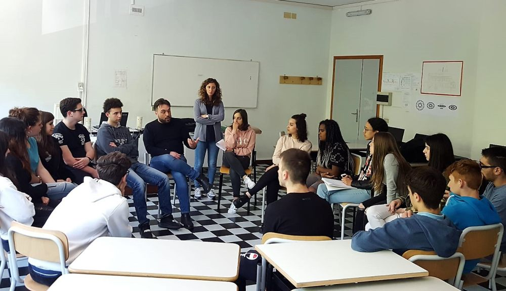 """I giovani del Marconi di Tortona incontrano """"Libera"""" contro tutte le mafie"""