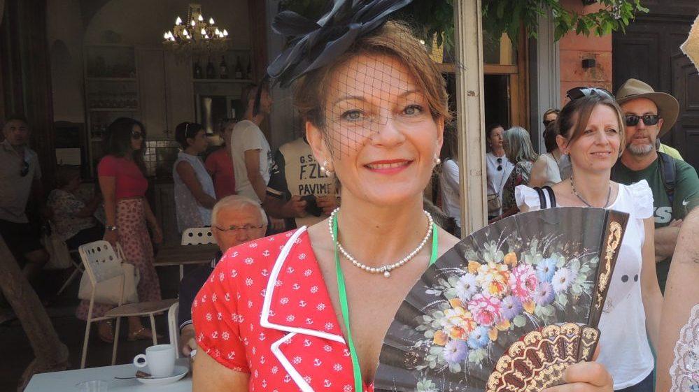 Maria Grazia Schincariol vince il primo premio di Bellezze in Bicicletta a Tortona. Tutte le immagini della manifestazione