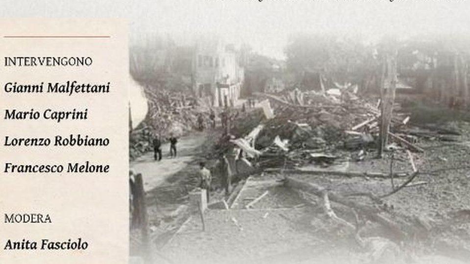 Giovedì a Novi si ricorda il bombardamento del 1944