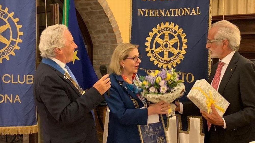 Il Governatore del Rotary in visita a Tortona