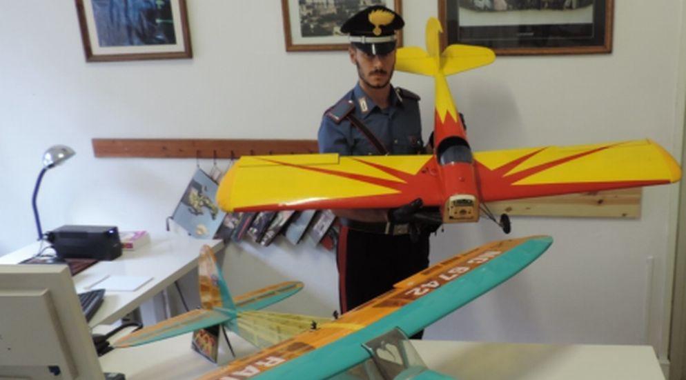 Quargnento, furto di aeromodelli: i Carabinieri recuperano la refurtiva