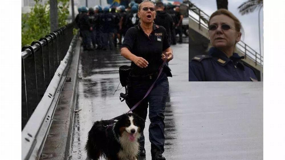 La poliziotta tortonese Laura Bisio scova i pusher a Genova grazie al cane Cora