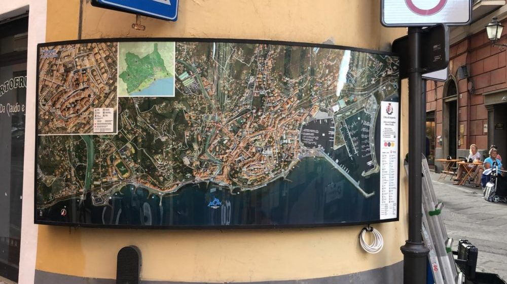 """Imperia, ecco le nuove cartine turistiche in città. Gandolfo e Oneglio: """"Apprezzate dai cittadini"""""""