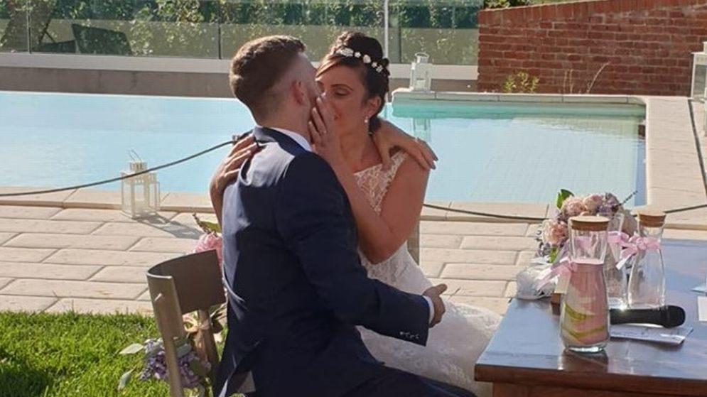 Andrea Bani si è sposato a Tortona con la splendida Irina, coronando il suo sogno d'amore