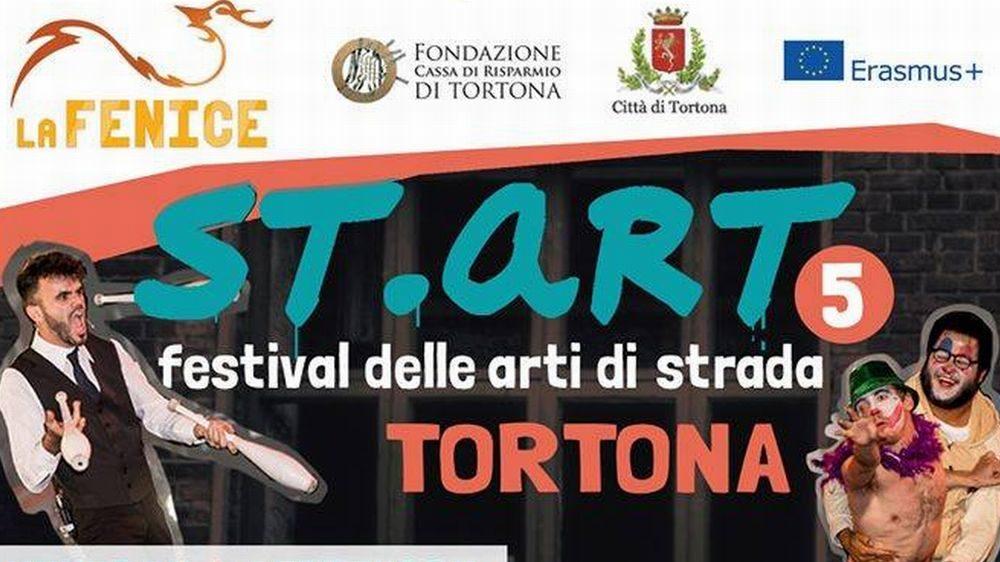 La Fondazione Cassa di Risparmio di Tortona finanzia il festival degli artisti di strada in programma da Venerdì 6