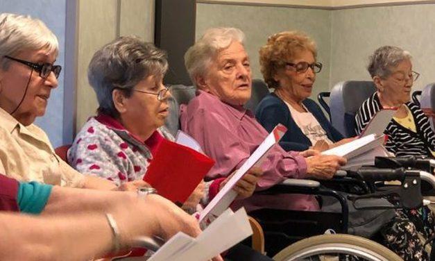 Un corso vocalità Residenza Anziani Valenza