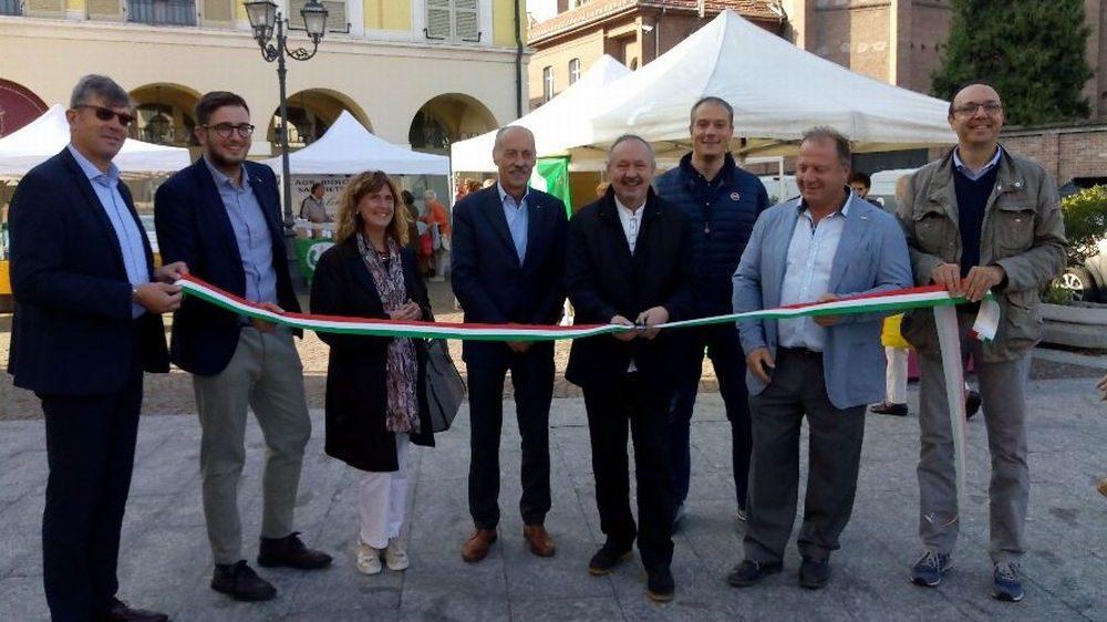 Ad Alessandria Inaugurato il mercato agricolo di Borgo Città Nuova di Confagricoltura e Cia Alessandria