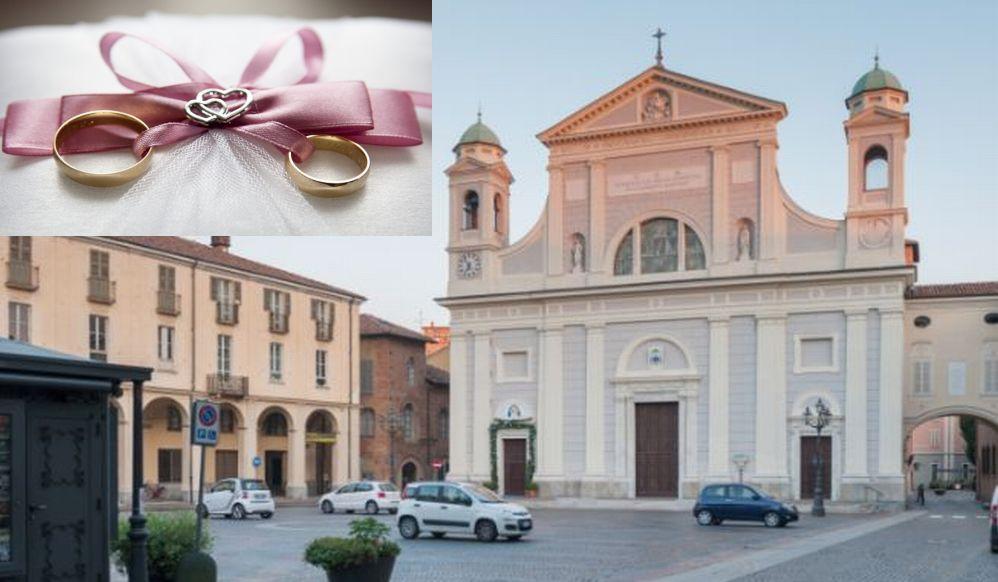 Carla Cassano e Dario Ferrari di Tortona festeggiano le nozze d'oro celebrate in Duomo e allo Chalet