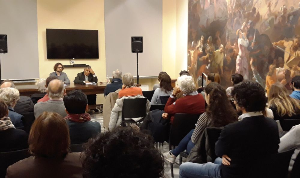 Sempre tanta gente a Tortona agli incontri di filosofia del Gruppo Chora. Martedì il prossimo