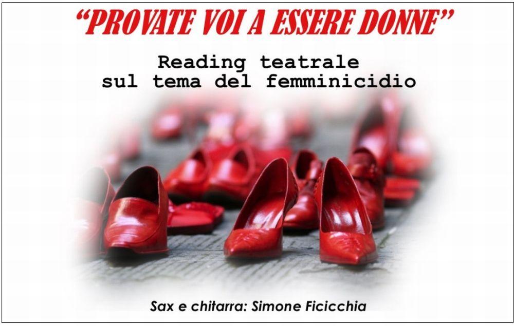 Lunedì alla sede del PD di Tortona un evento teatrale ad ingresso libero sul tema del femminicidio
