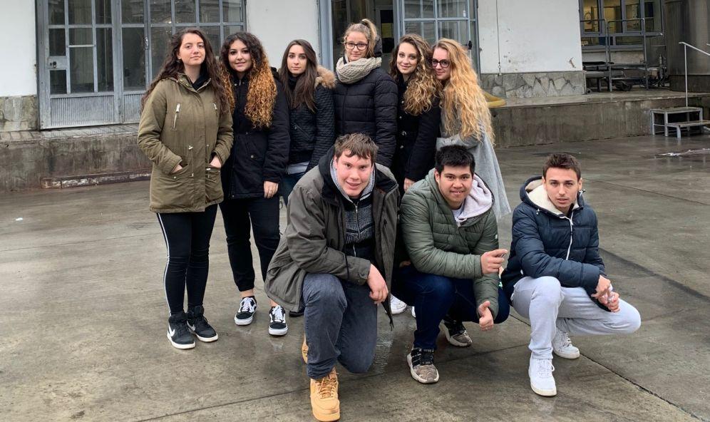 Gli studenti del Marconi di Tortona in visita alla Centrale del latte