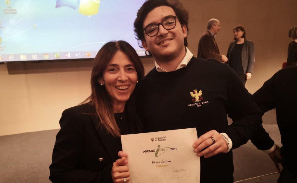 Al Polo tecnologico Imperiese il premio Iris dell'Università degli Studi di Genova