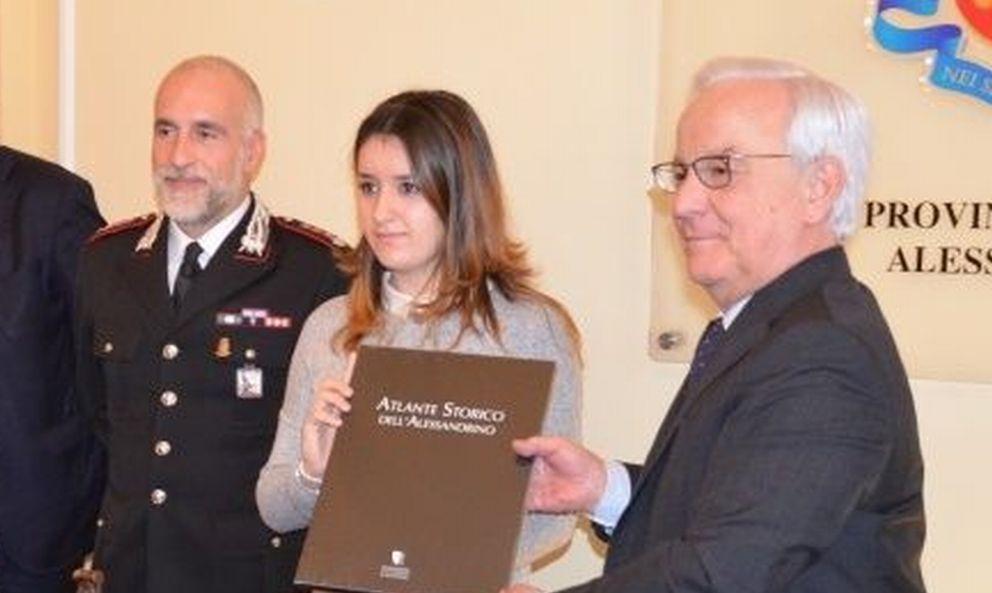 """Michela Valsorda di Sarezzano e Davide Frosi di Casalbagliano vincono il premio """"Salvati"""""""