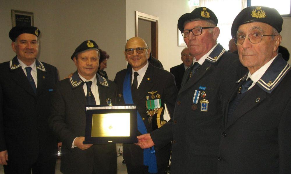 I marinai di Tortona a Sarzana per una commemorazione