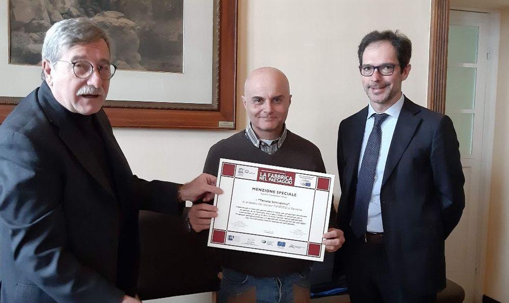 """Bordighera, consegnato il premio internazionale """"La fabbrica del paesaggio"""""""