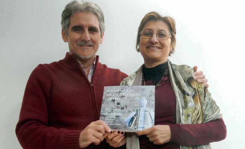 L'artista tortonese Fabrizio Falchetto festeggia 20 anni di attività con un'opera molto particolare di grande caratura
