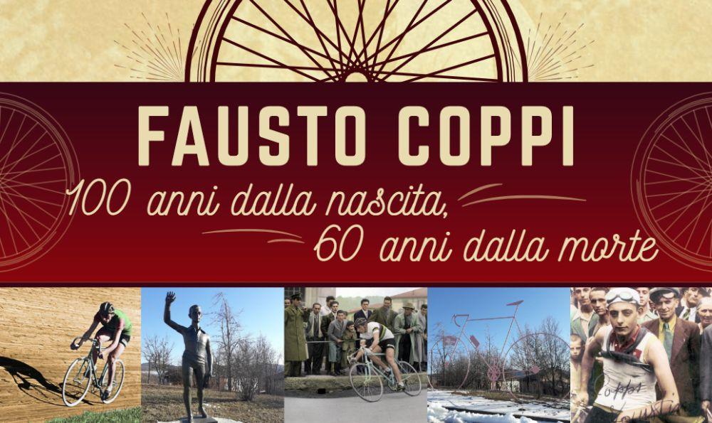 Giovedì a Tortona si festeggiano i 100 anni di Fausto Coppi con mostra e convegno