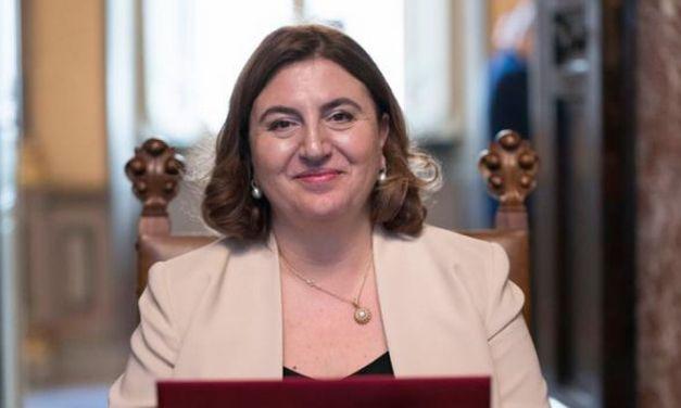 Il Ministro del Lavoro e delle Politiche Sociali Nunzia Catalfo in visita ad Acqui Terme