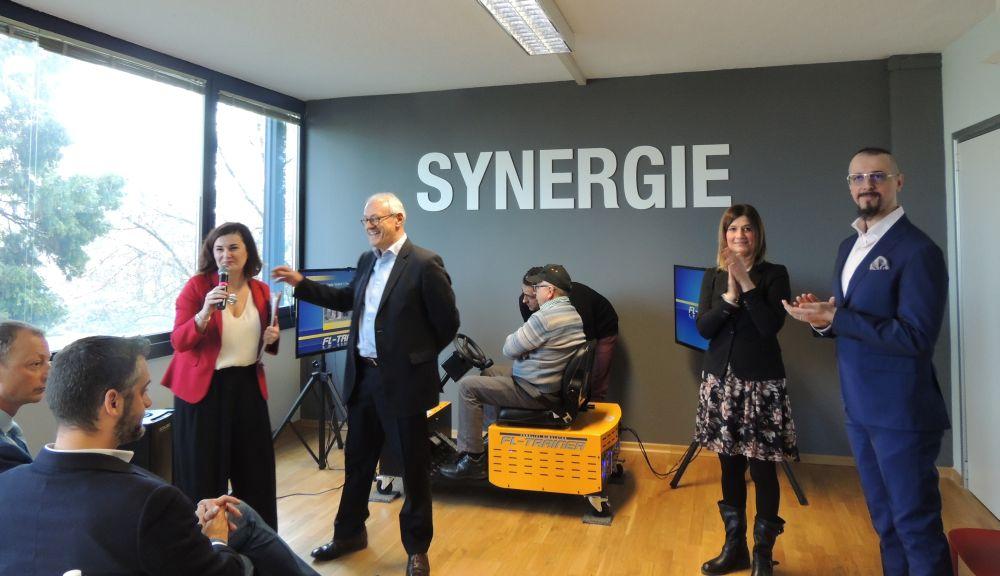 Synergie sbarca a Tortona per portare lavoro. Le immagini dell'inaugurazione all'Interporto