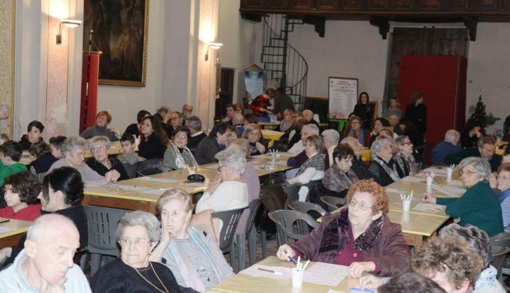 Un successo a Pontecurone, la tombola di beneficenza, primo evento di solidarietà del 2020