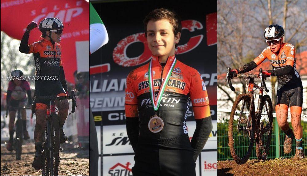 Tommaso Bosio, 13 anni di Tortona, conquista la medaglia di bronzo ai Campionati Italiani di Ciclocross