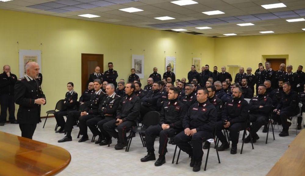 I carabinieri di Alessandria in esercitazione nell'acquese e nel novese con la Protezione Civile