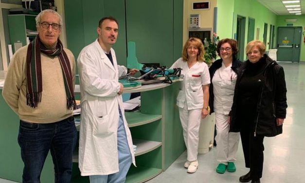 Il Fai di Tortona dona all'ospedale cittadino un apparecchio per la  riabilitazione del ginocchio