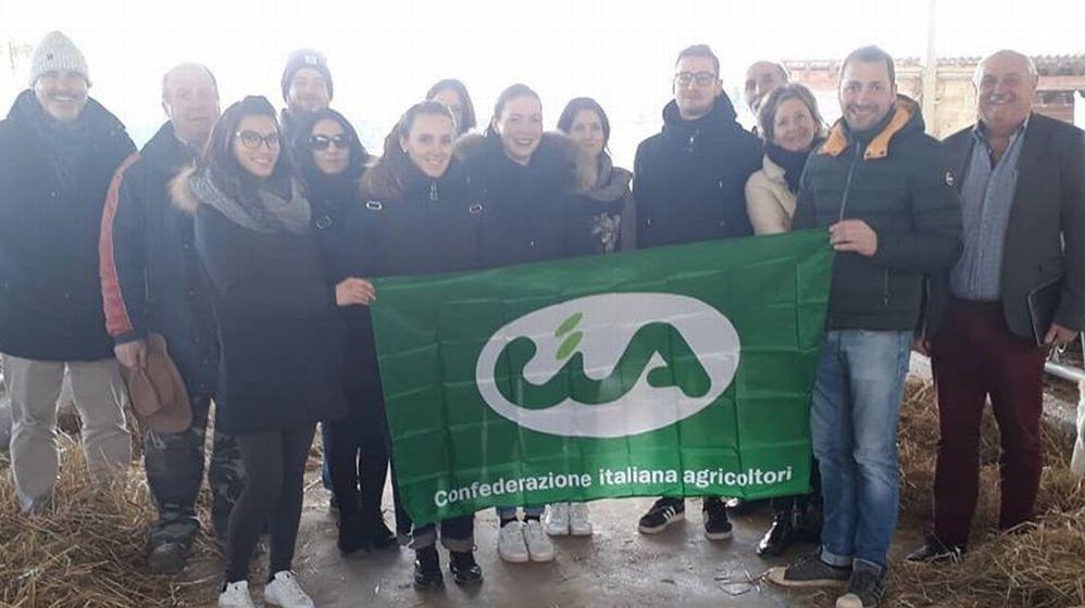 Giovani imprenditori da Venezia in visita nelle aziende Cia di Alessandria